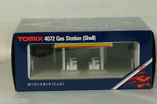 "Tomytec n scale 4072 Gas Station ""Shell"" / Tomix n gauge"