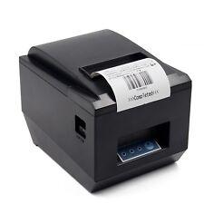 Pos Thermal Usb Square Receipt Printer Ethernet Lan Amp Serial Port Auto Cu