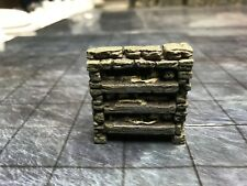 NEW Dwarven Forge Painted Resin Catacombs Freestanding Short Skeleton Shelves