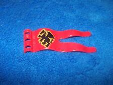Lego Duplo Zoo Ritterburg Fahne Wappen Rot aus 4785 4777  4776 4779 Ersatzteil