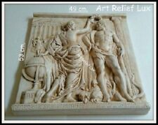 Groß Heracles Fat Greek wedding Kamin Stuck gips Relief Griechenland Skulptur