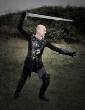 Leather Robin hood armor medieval theatrical Celtic LARP SCA Armour Halloween