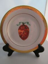 Gold Buffet Royal Gallery Red Faberge Egg Luncheon/Salad Plate – New