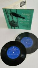 "Songs Of Birds In Britain 7"" Double vinyl 2 x records John Kirby MINT 1962"