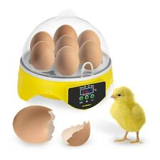 Brutmaschine Brutautomat Ei-Inkubator Brutapparat Flächenbrüter Brüter 7 Eier