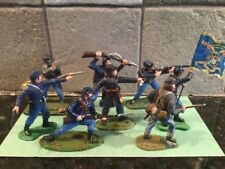 Toy Soldiers 8 Plastic 54mm ACW Union Troops