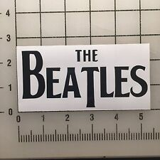 "The Beatles 5"" Black Vinyl Decal Sticker - BOGO"