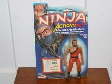 Remco Secret of the Ninja Actionized Action Figure on Card 1984