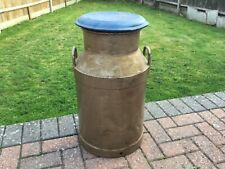 More details for vintage galvanised 10 gallon milk churn