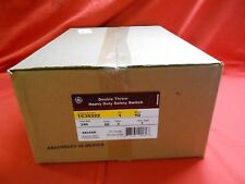 GE TC35322 DOUBLE THROW TRANSFER SWITCH 24 0VAC 60 AMP 3-P - NEW IN BOX