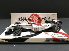 Minichamps - Takuma Sato - BAR - 006 - 2004 - 1:43 - Suzuka Circuit  - Rare!