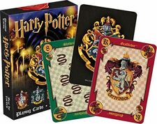HARRY POTTER - HOUSE CRESTS - PLAYING CARD DECK - 52 CARDS NEW - 52357