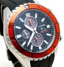Citizen Men's Eco-Drive Promaster Chronograph Black rubber Diver 200m CA0718-13E