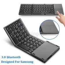 B033 Mini Folding Touch bluetooth Keyboard Fit For Samsung Dex  Q °