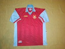 WEST HAM UNITED  1997/1998 HOME FOOTBALL SHIRT  PONY VINTAGE EXCELLENT
