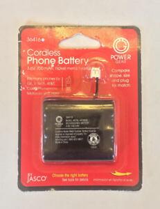 Power Gear Cordless Phone Battery, 3.6V, 700 mAh, 36416