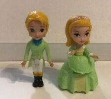 Mattel Disney Sofia The First Princess Amber & James Action Figures Green Dress