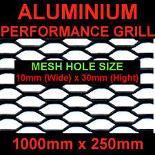 AUDI A3 A4 A6 RS4 S3 S4 S6 TT ALUMINIUM BLACK NET GRILL 25x100cm Mesh 10x30mm