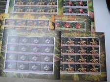 2016 India Beautiful Set of 6 Sheetlets on Orchids - MNH Limited Edition