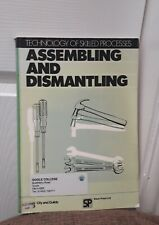 Technology of Skilled Processes: Assembling and Dismantling by Nelson Thornes