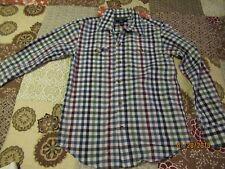 Gap Kids Plaid Long Sleeve Shirt - 8-9 yrs.