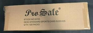 10000 Pro-Safe Premium SOFT PENNY REGULAR STANDARD CLEAR CARD SLEEVES NEW CASE