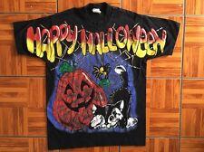 Vtg 90s NYC Airbrush Style PINOCCHIO Halloween Graffiti Graf Hip Hop Rap T Shirt