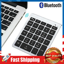 Portable Wireless Bluetooth Number Pad,28-Key Keyboard ,for Laptop, Surface More