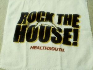 San Diego Chargers Rally Towel Stadium Give A Way HealthSouth