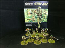 DPS Painted Bolt Action WW2 Australian Militia Infantry Section,Warlord Games