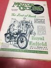 """"""" Motor Cycling"""" Magazin Englisch Moto Scarborough Trial Excelsior Royal Enfield"""