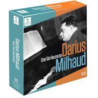 DARIUS/BERNSTEIN,LEONARD/CELIBIDACHE,S. MILHAUD - UNE VIE HEUREUSE 10 CD NEW+