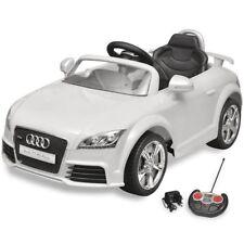 vidaXL 10087 30 kg Max Voiture Électrique pour Enfant avec Télécommande (Audi TT RS) – Blanc