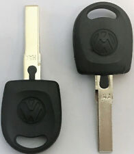 X2 VW Volkswagen HU66T6 Transponder Key VW Logo USA Seller Top quality