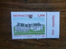 2019 MONACO ANCIENT GRIMALDI STRONGHOLDS- VALMONT MINT STAMP
