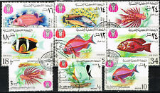 Yemen Fauna Marine Life Arabian Sea Corall Fish set 1967