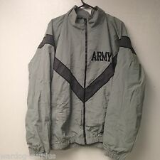 US ARMY Reflective IPFU Uniform PT Jacket Coat SMALL / Long Wind Breaker VGC
