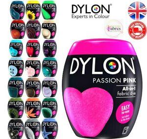 22 Colours Dylon Fabric & Clothes Dye Dylon Machine / Hand Dye /Soft Furnishing.