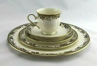 Elegant 5 Piece Place Setting Lenox Fine China Meadow Breeze Tea Cup + 4 Plates