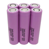 6X 18650 30Q 3000mAh High Drain 3.7V Li-ion Rechargeable Battery for Vape Smok