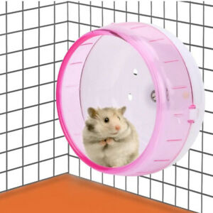 Hamster Wheel Non-slip Silent Running Wheel Exercise Wheel Gerbil Chinchilla QN