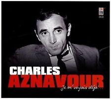 CD de musique en coffret digipack charles aznavour