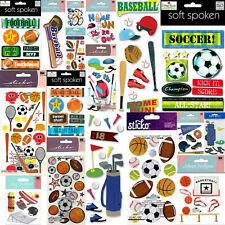 Jolee's⚽SPORTS🏈⚽Basketball Soccer Football Skate Ice Hockey Scrapbook Stickers