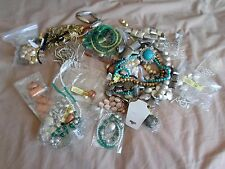 Assortment of Jewellery / Crafting Bits and Pieces 1180grams