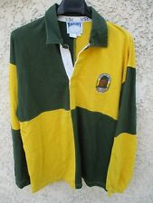Maillot rugby AUSTRALIE AUSTRALIA WALLABIES shirt coton USC damier ancien XL