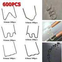 600Pcs Standard Pre Cut 0.6/0.8mm Hot Staples For Plastic Stapler Repair  🔥