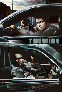 """The Wire Promotional Poster (24""""x36"""", 13""""x19"""") - FREE s/h"""