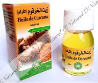 Huile de Curcuma (Macérât) 100% Naturelle Turmeric Oil, Aceite de Cúrcuma