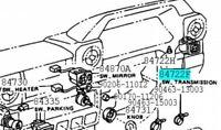 TOYOTA 84722-60050 Transmission Control Switch ASSY Genuine Parts LAND CRUISER
