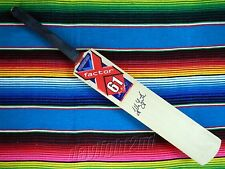 ✺Signed✺ GLENN MCGRATH X-Factor Cricket Bat COA Australia 2017 Shirt Jersey